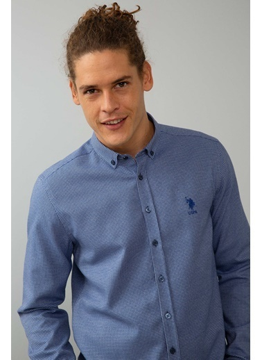 U.S.Polo Assn. Gömlek Mavi